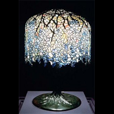 Hanging Shade Tiffany Lamp