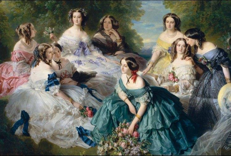 european painting 19th century franz winterhalter