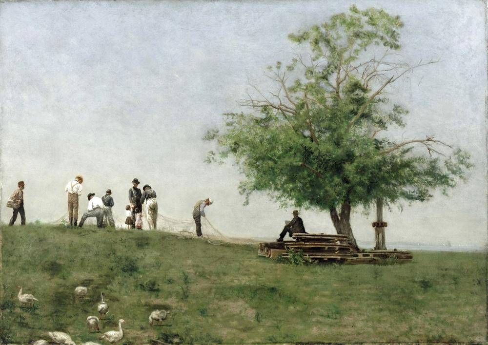 european 19th century painting thomas eakins
