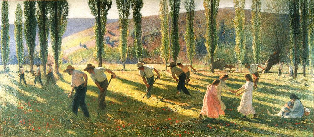 European Painting - 19th century Henri Martin