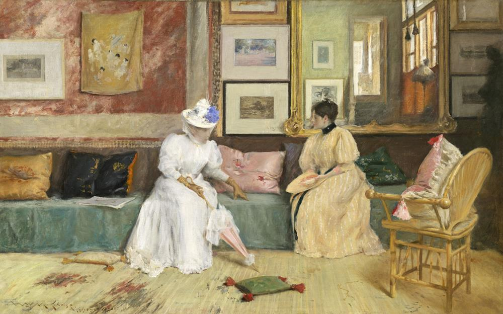 american paintings william merritt chase 19th century