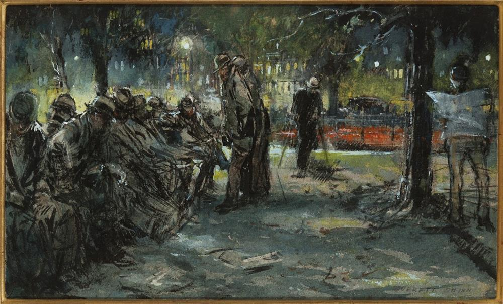 american painting 20th century everett shinn