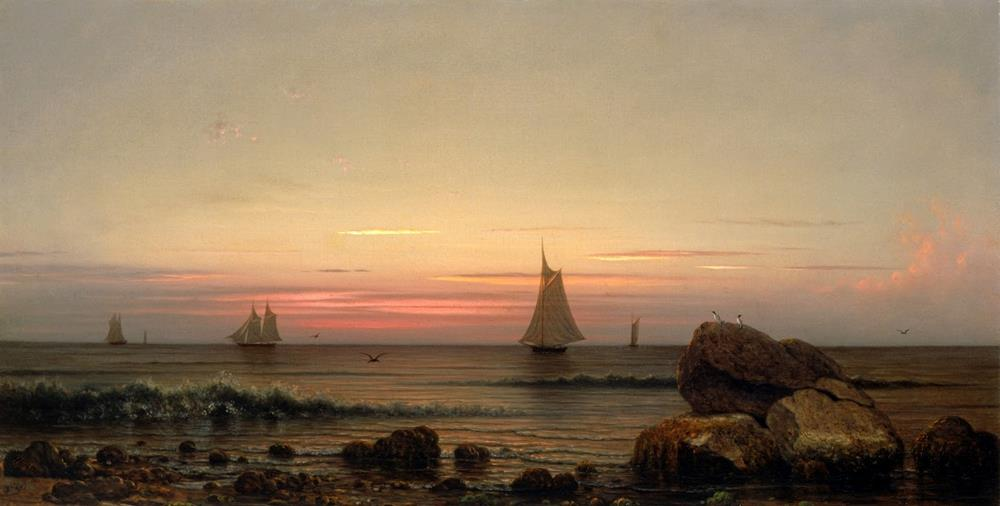 19th century american painting martin heade