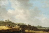 old master painting dutch jan van goyen 17th century