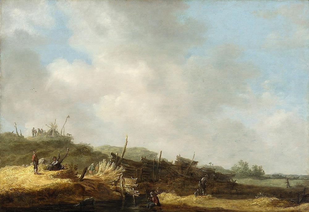 old master painting dutch jan van goyen 17th century