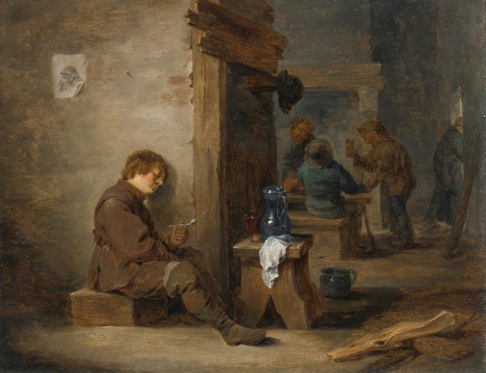 old master painting david teniers 17th century flemish