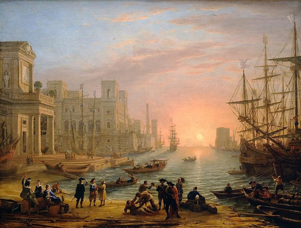 old master painting french claude lorrain