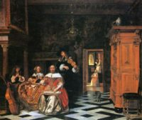 old master Dutch painting Pieter de Hooch