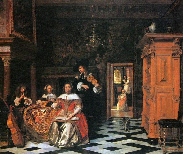 old master Dutch painting Pieter de Hooch