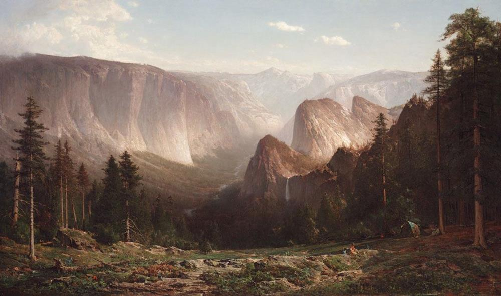 19th century american painting thomas hill