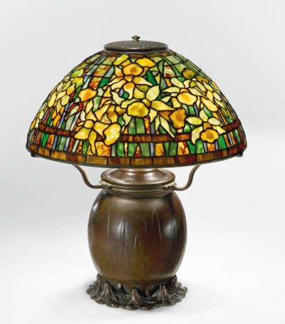 tiffany lamp authentic daffodil