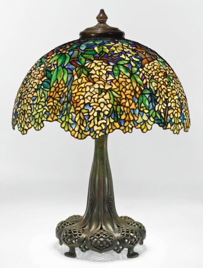 tiffany lamp authentic laburnum
