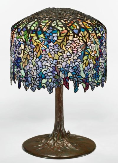tiffany lamp wisteria table