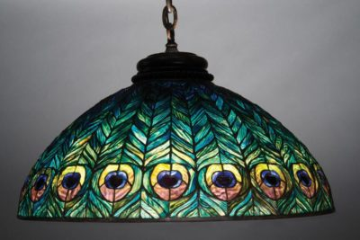 tiffany lamp authentic hanging shade