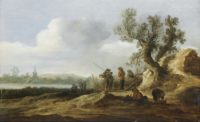 old master painting dutch jan van goyen
