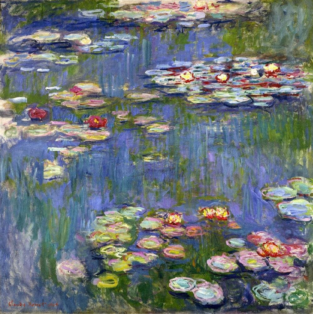 Claude Monet - Water Lilies 1916 - 19th Century