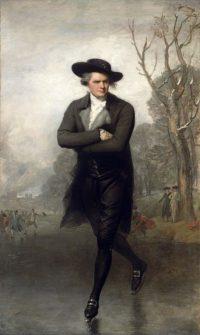 18th Century American - Gilbert Sturat - The Skater - 1782