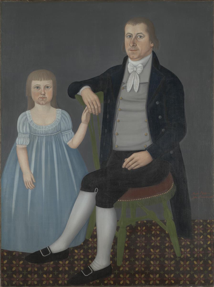 18th Century American - John Brewster - Comfort Starr Mygatt and Lucy Mygatt - 1799