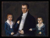 18th Century American -Joshua Johnson - John Jacob Anderson and Sons John and Edward - ca. 1812