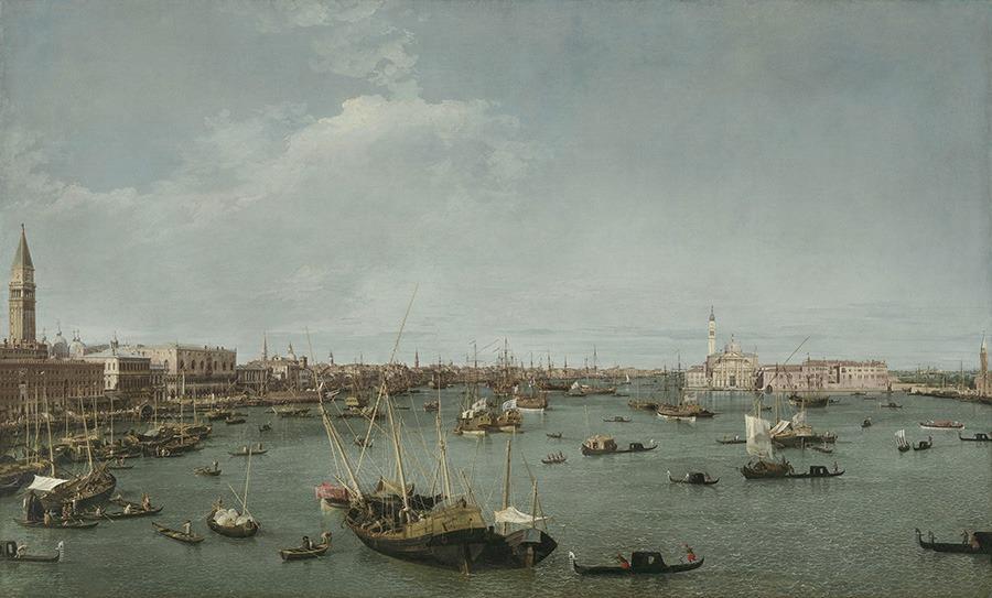Giovanni Canaletto - Bacino di San Marco, Venice - ca. 1738